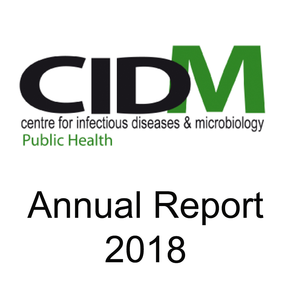 CIDM 2018 annual report widget