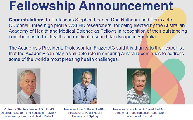 Fellowship announcement