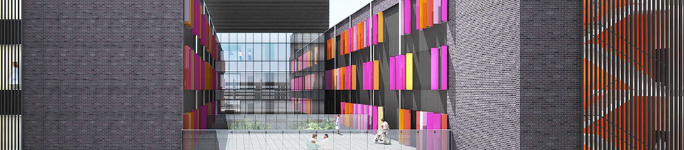 Blacktown New Building South Facade