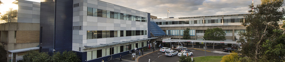 Exterior view of Westmead Hospital