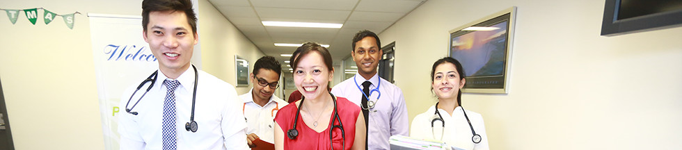 Intern Doctors at Blacktown