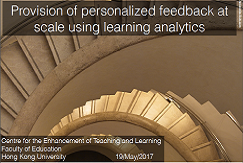 Provision of personalised feedback
