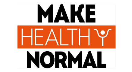 Make Healthy Normal logo