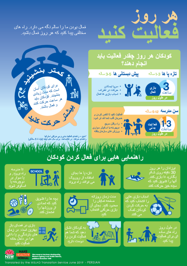 persian active infographics
