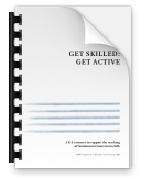 Get skilled, Get Active booklet