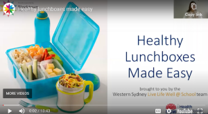 healthy lunchboxes made easy