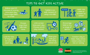 tips to get active