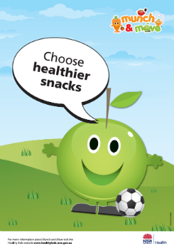Choose healthier snacks thumbnail