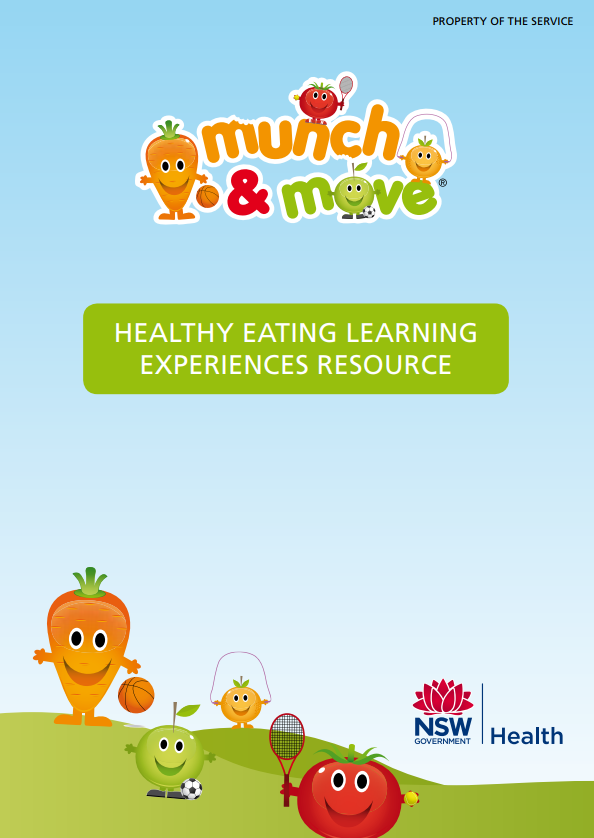 healthy eating learning experiences
