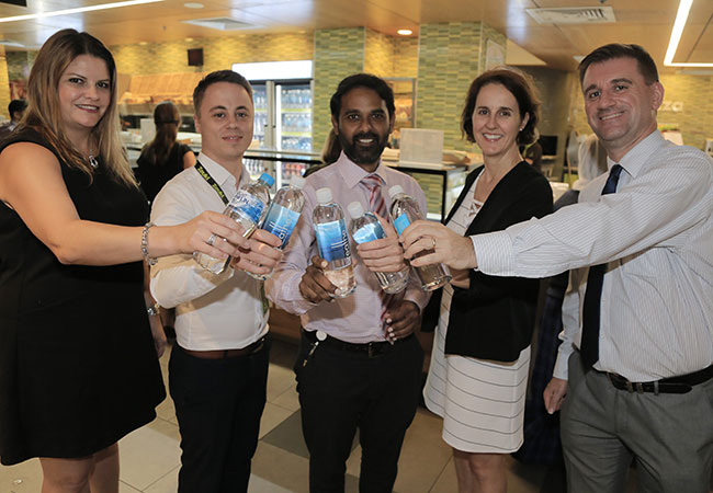 2017 WSLHD Quality Awards finalist team photo - Rethink your Drink at Westmead Hospital