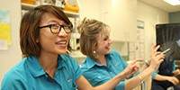 Allied health generic two ladies