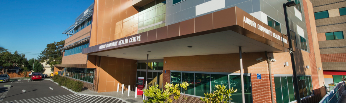 Auburn Community Health Centre Facade