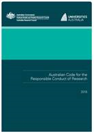 Aust code of responsible conduct