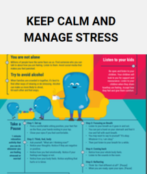 Tips for parents on managing stress and other parenting topics