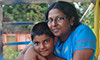Arrane Nirumalan and son