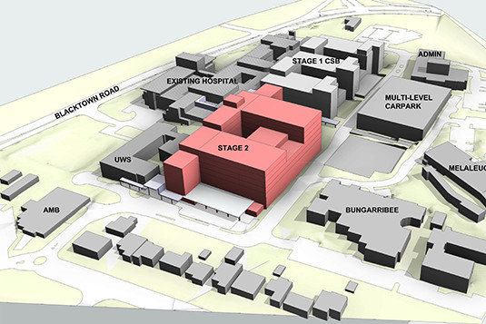 Stage 2 Redevelopment diagram