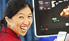 Westmead Hospital Professor Clara Chow promoting TEXTME, a program that supports people with chronic disease