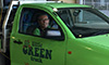 George from Little Green Trucks transporting a special-needs bed from Auburn Hospital to Westmead Hospital