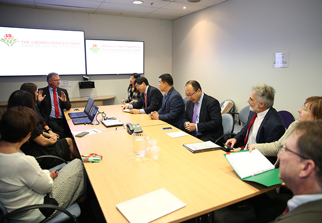 Westmead Hospital hosts Shandong delegation
