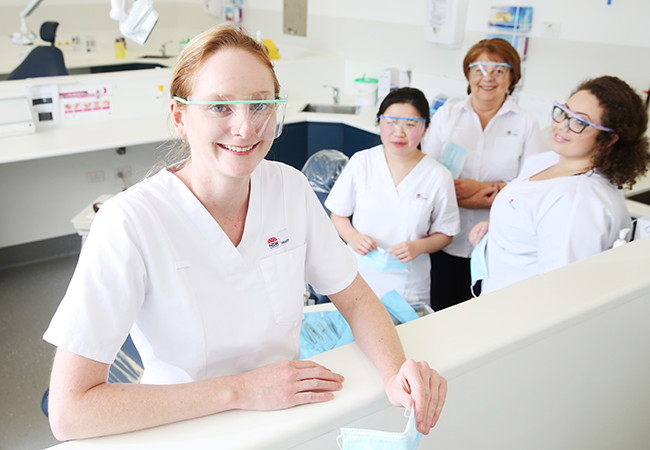 Dental assistants at Westmead Hospital