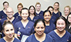 Group shot of Westmead Hospital's 2016 new grad nurses who have successfully wrapped up their first year of nursing