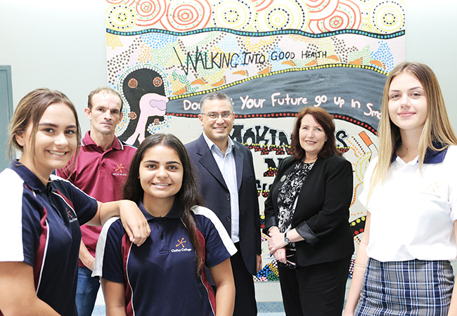 Local Students create masterpiece for Mount Druitt hospital