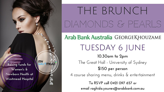 The Brunch - Diamonds and Pearls.  The Great Hall - University of Sydney