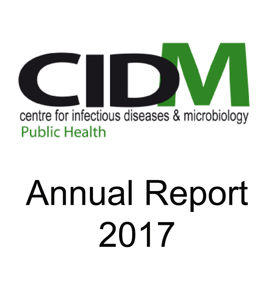 CIDM 2017 annual report widget